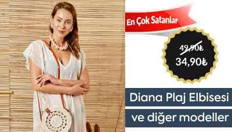 Diana Plaj Elbisesi