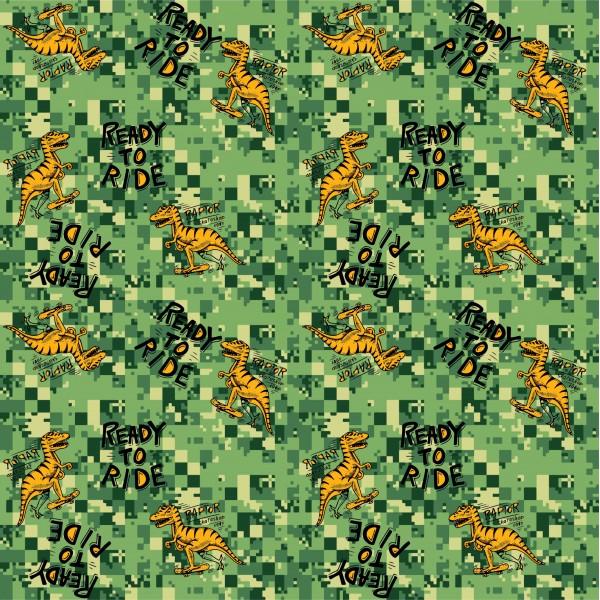 yeşil dinozor