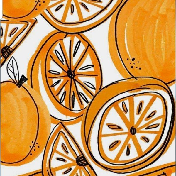 Turuncu portakal
